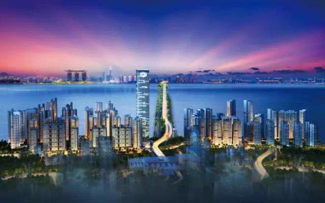新加坡兀兰商业枢纽,离富力公主湾1公里!