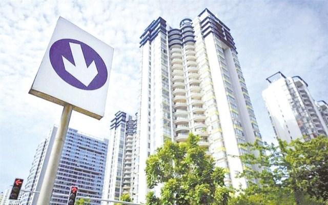 三线房价涨势被遏制,房地产增加值增速走低