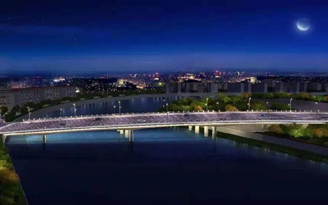 即将通车!天府新区锦江大桥建设新进展