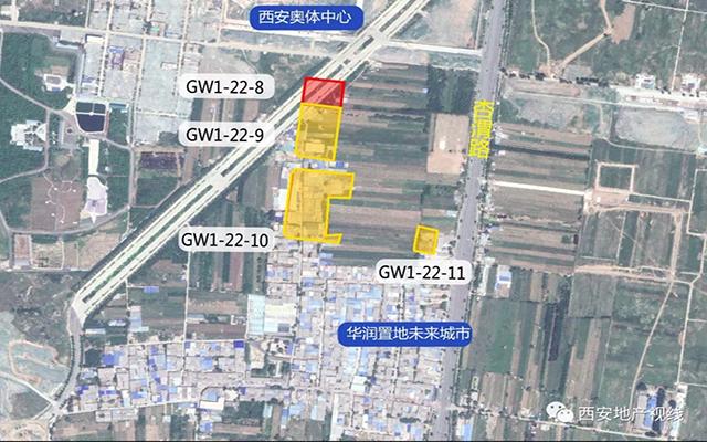 华润、招商拍得港务区407亩开发用地