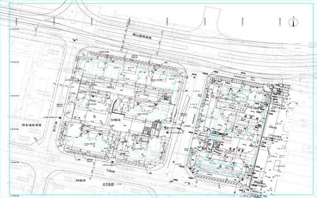 七里河电机厂项目5#、6#地块总平面图公示